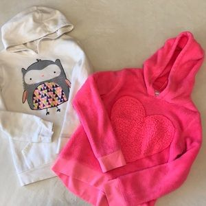 Girls hoodie sweatshirt bundle size 10/12